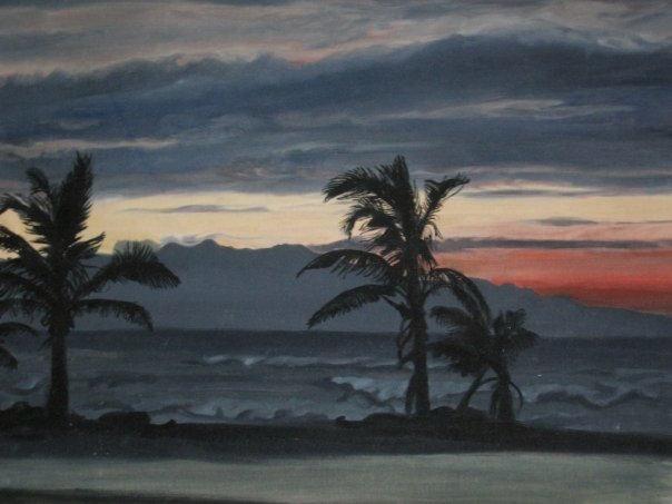 Sunset at Quatzacoalcos